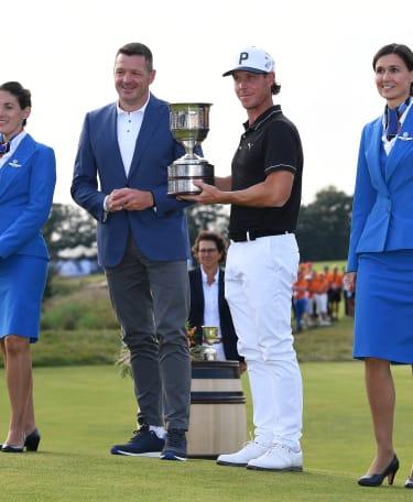 Broberg secures Dutch Open crown