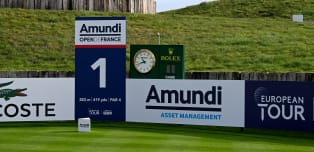 On the tee: Amundi Open de France