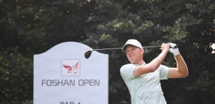 Knappe holds lead after 36 holes in Foshan