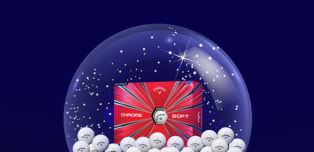 WIN a year's supply of Callaway Chrome Soft golf balls