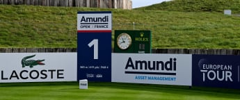 On the tee: Amundi Open de France