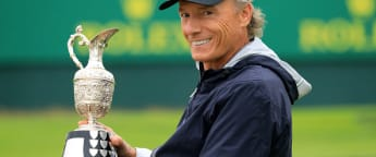 Langer wins historic fourth Senior Open title