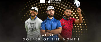 Van Rooyen voted Hilton Golfer of the Month for August