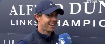 McIlroy - Dad bettered me by five shots today