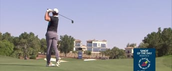 Shot of the day - DP World Tour Championship Day 3
