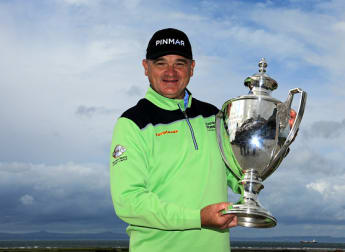 Home victory delight for Lawrie in Scotland