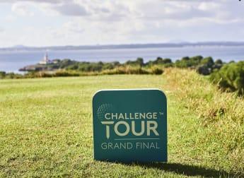 On the tee: Challenge Tour Grand Final