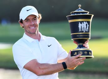 McIlroy claims WGC hat-trick in Shanghai