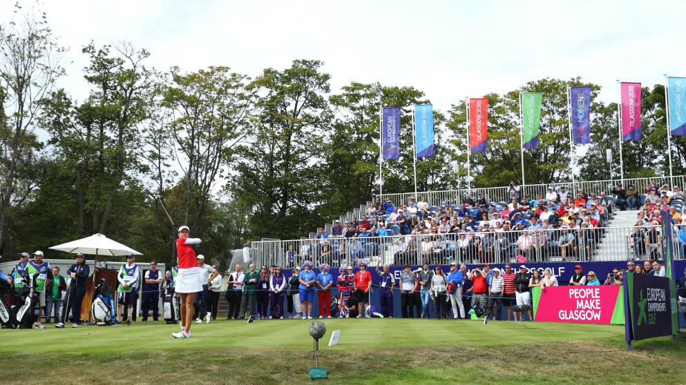 European Golf Team Championships first tee
