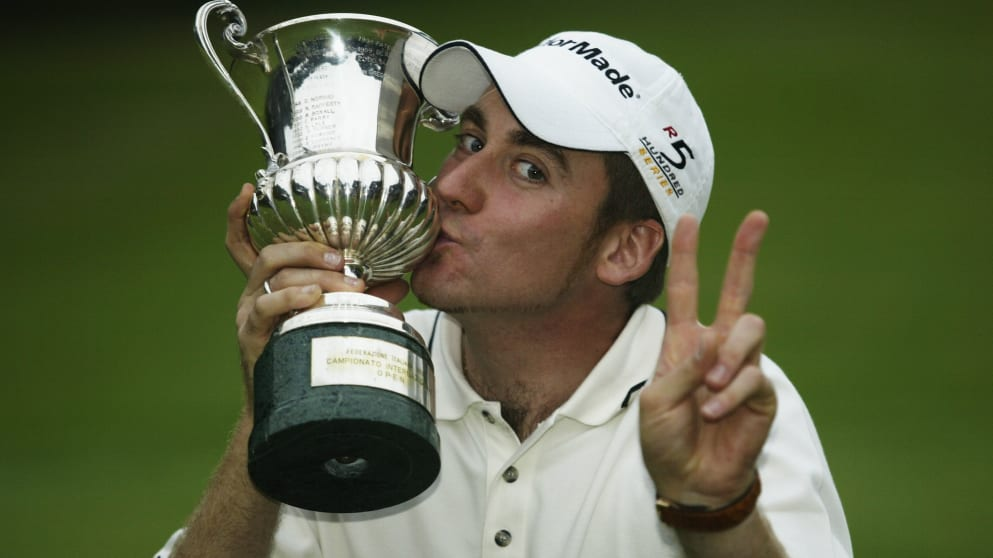Ian Poulter in 2002