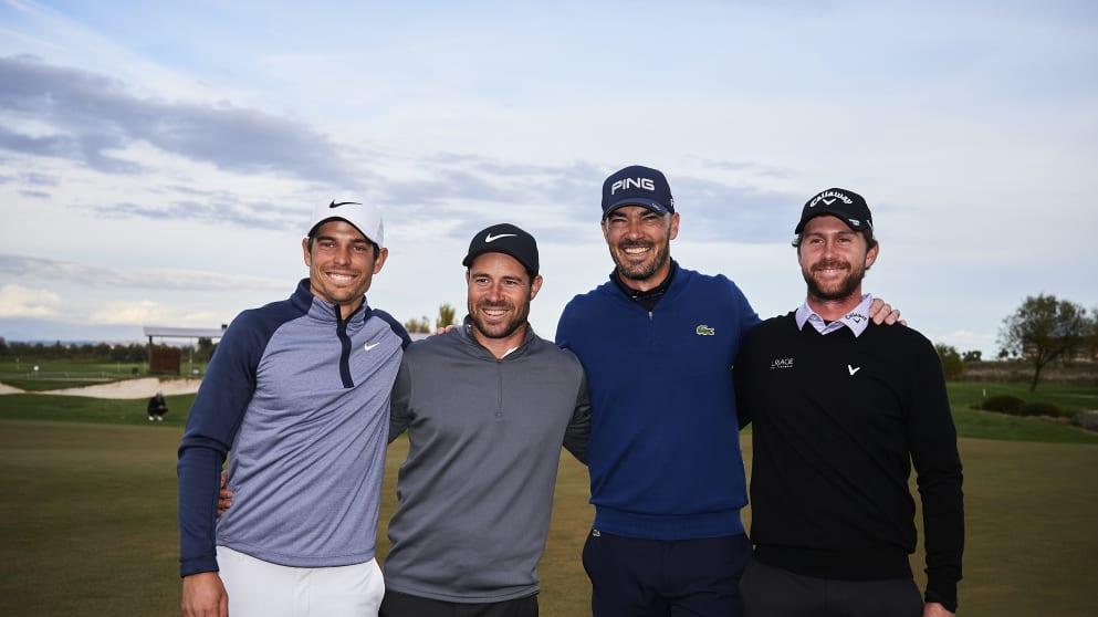 Four Frenchmen on Tour