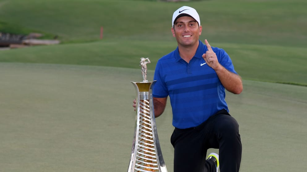 Francesco Molinari R2D champion