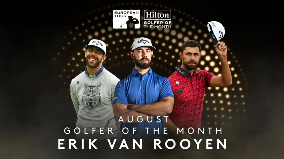Hilton Golfer of the Month - August