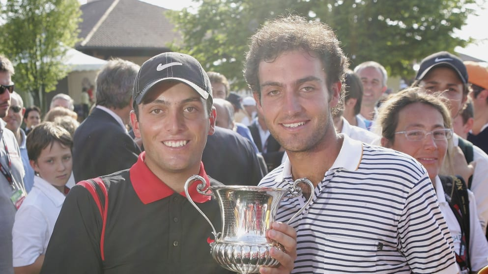 Francesco and Edoardo Molinari