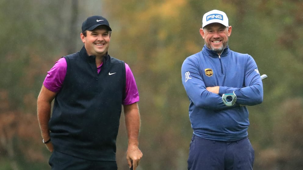 Race to Dubai #1 Patrick Reed and #4 Lee Westwood